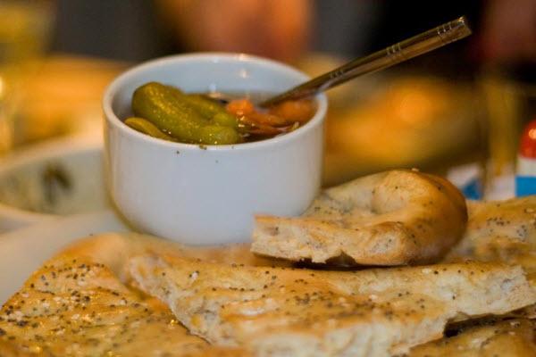 Un pas afghan et pickles chez Afghan Kitchen