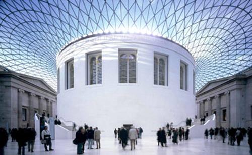 Cour couverte au British Museum