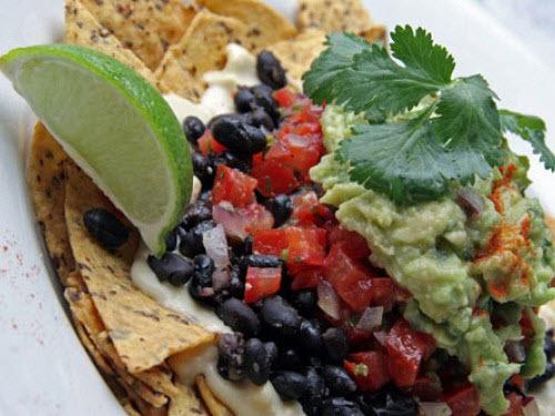 nachos manna végétarien